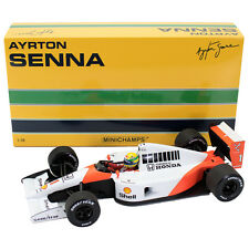 Mclaren honda mp4/6 ayrton senna f1 World Champion 1991 #1 540911801 1/18 New
