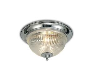 ART-DECO-Encastre-Salle-de-bains-plafonnier-avec-verre-clair-Diffuseur-IP44-Encastre-2x40W