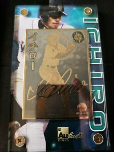 Details About Ichiro Suzuki 24k Gold Plated Mlb Baseball Card Limited Edition 4174451000