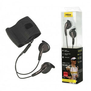 Details about JABRA ACTIVE SECURE FIT STEREO HEADSET HEADPHONES