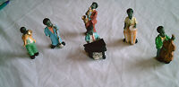 Figurines Miniature Polyresin Artmark Treasury Of Gifts Six Ethnic Musicians