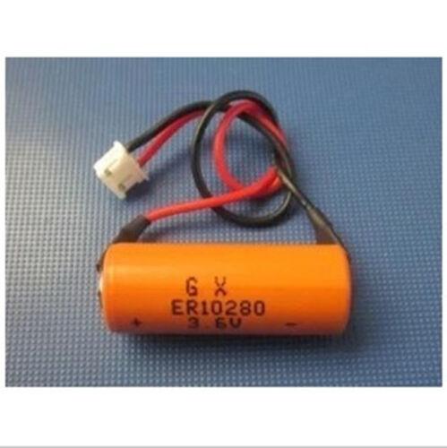 1PCS   FX2NC-32BL ER10//28 3.6V PLC Lithium Plug Compatible 90 days warranty