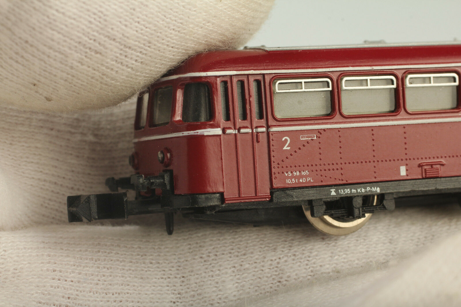Arnold N 0291 Rail Bus Side Car 98 175 175 175 Test  Changing Light Good  Dust   Dirt 7dc996