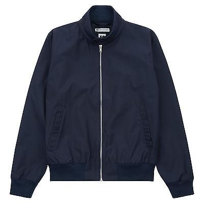 Community Clothing Women's Navy Harrington Jacket