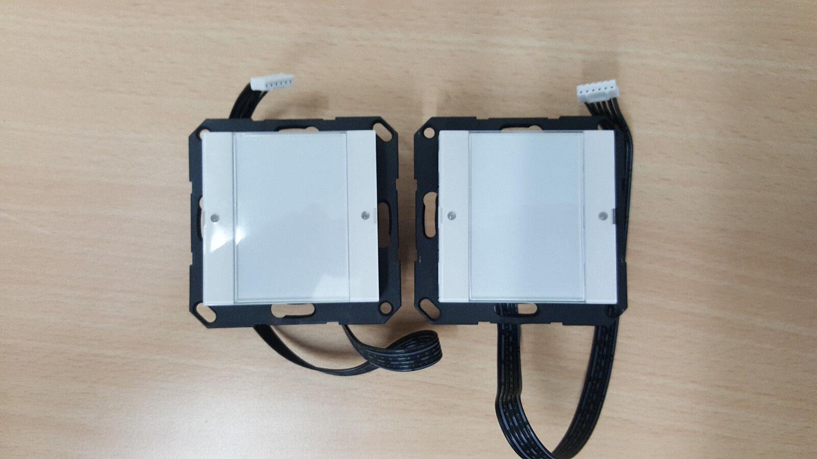 GIRA Ruftasteneinsatz 424003 und Ruftaster 424022 System 55   Ausgezeichnete Qualität