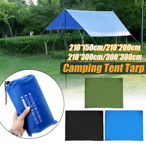 Waterproof-Camping-Hiking-Tent-Tarp-Canopy-Awnings-Rain-Cover-Sun-Shelter-Mat