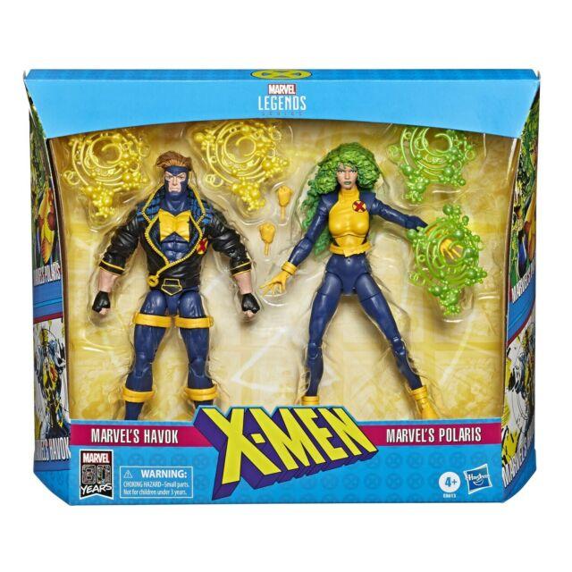 UK Seller Marvel Legends Series X-Men 6 Inch Build Warlock Wave Action Figures