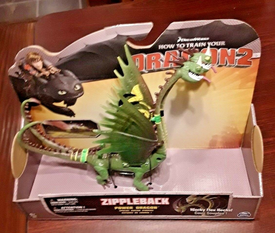 2010 ZippleVerpackung w Racing Stripes Wirkung Figure How To Train Your Dragon  Meerled