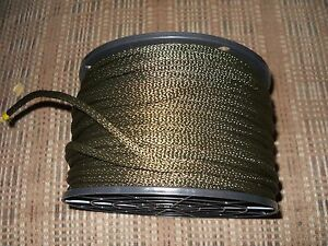 3 16 Quot X 250 Braided Olive Drab Polyester Dacron Cord