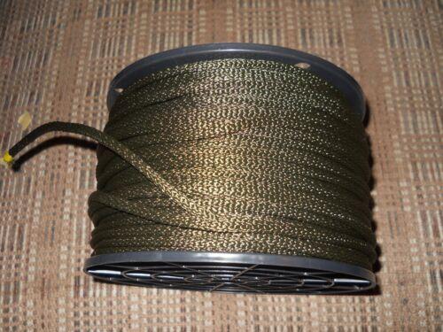 """3//16/"""" x 250/' tressé OD Polyester//Dacron Cordon//Corde-Made in USA"""