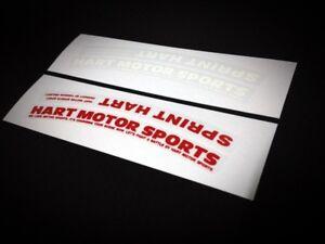 hart motor sports STICKER SPRINT