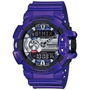e22c442ec CASIO G-SHOCK G MIX Bluetooth Blue   Purple Watch GShock GBA-400-2A ...