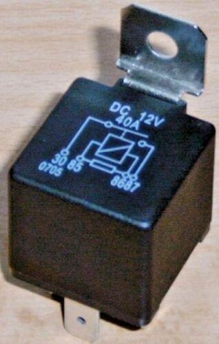 12 Volt 40 Ampere Relais mit Widerstand Fahrzeugelektrik Fahrzeugrelais