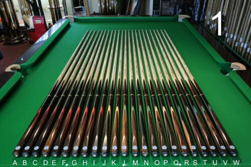 Master Cue Classic 34 Hand Spliced SnookerPool Cue, Chesworth Cues, Sheffield