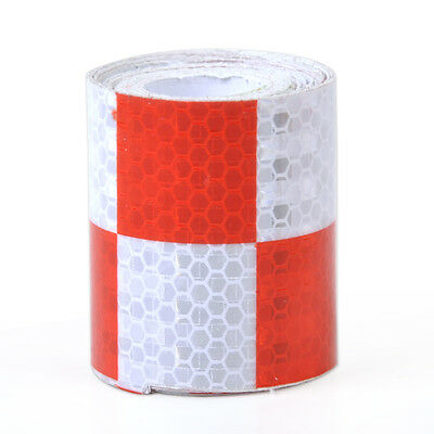 """2""""X118"""" Chequer Reflective Safety Warning Conspicuity Tape Marking Film Sticker"""