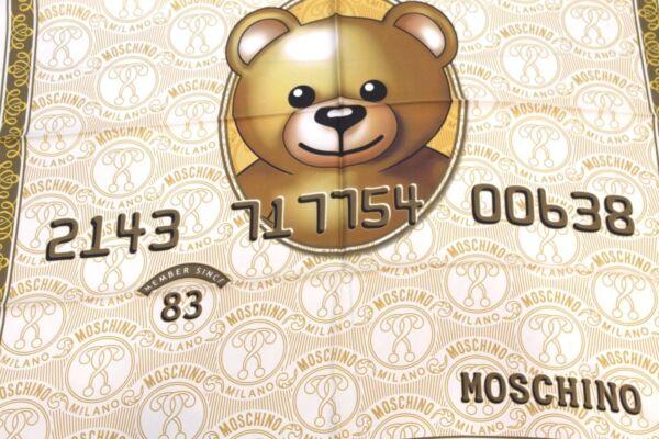 Sciarpa Dollari Shop Moschino
