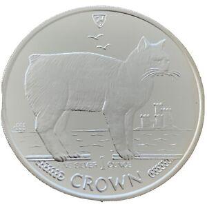 1-Unze-Silber-ISLE-OF-MAN-1988-1-Crown-MEERKATZE-PP