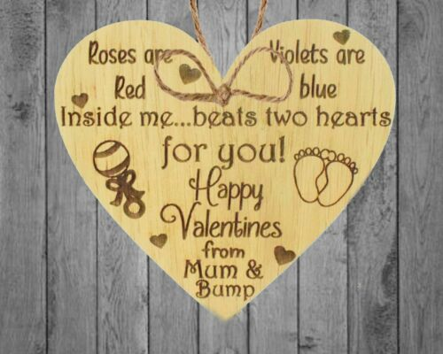 Valentines Gift For Him Boyfriend Husband Oak Heart Daddy To Be Gifts From Bump