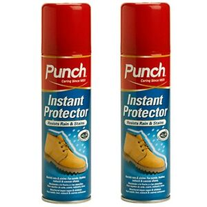 2 x 200ml punch instant suede leather fabric shoe boot