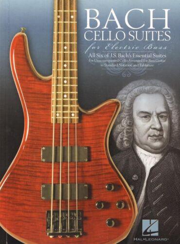 J.S Bach 6 Cello Suites for Electric E Bass Guitar Noten Tab