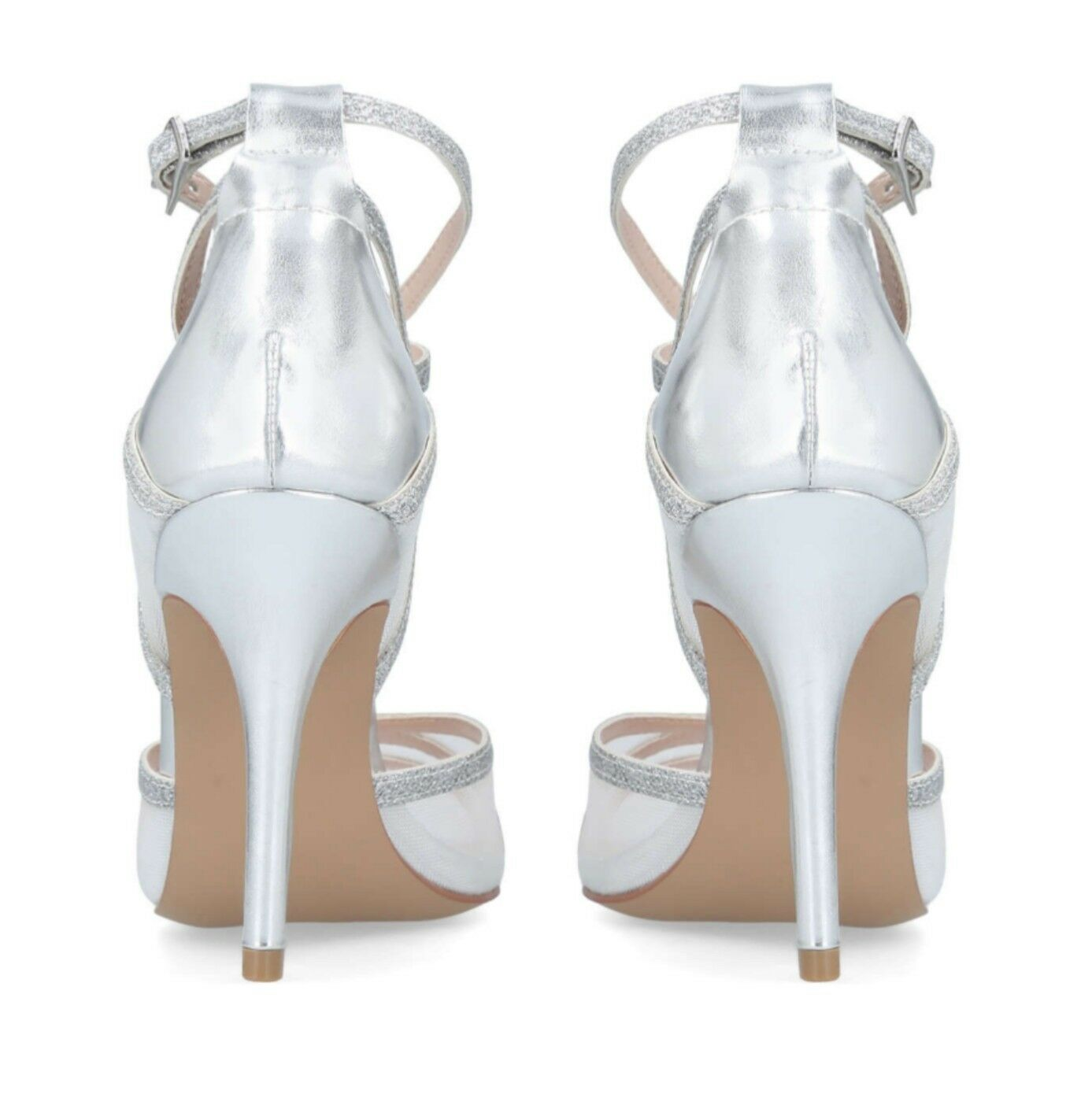 Luxe wedding Carvela by designer Kurt Gieger  lace Bridal, wedding Luxe guest shoes Size 8 2f5c3d