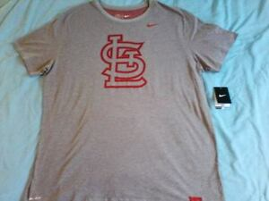 Image is loading NEW-Nike-St-Louis-Cardinals-Dri-Fit-Shirt- 82f0068f6