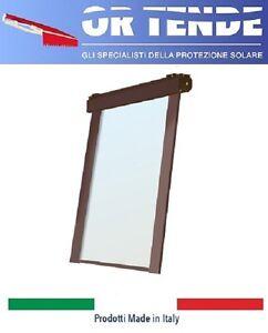 Tenda-a-Rullo-Ermetica-Con-Guide-laterali-SU-MISURA-Cristal-Trasparente-6-10