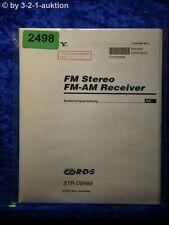 Sony Bedienungsanleitung STR DE685 FM/AM Receiver (#2498)