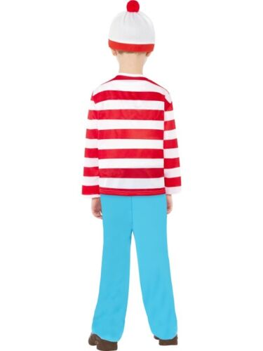 GLASSES BOYS WHERE/'S WALLY FANCY DRESS COSTUME CHILDRENS WHERES OUTFIT HAT