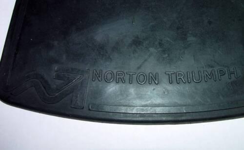 Norton Commando,1968-77 OEM Front /& Rear Mud Flap w// Mounting Hardware