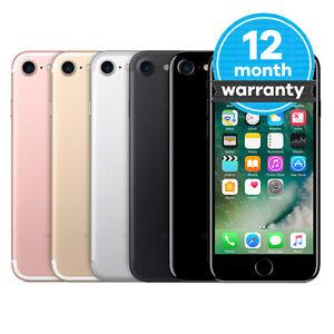 Apple iPhone 7 - 32GB 128GB 256GB - Unlocked SIM Free Smartphone Various Colours