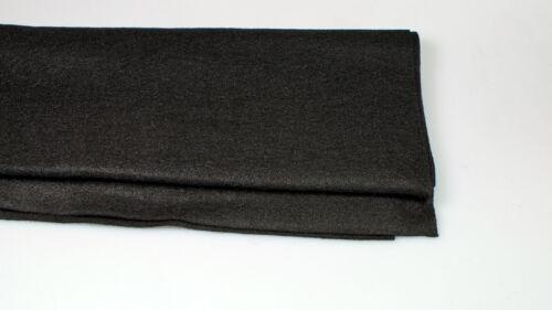 Bespannstoff Lautsprecher Boxen Bass PA Filz schwarz für Boxen  Heckablage