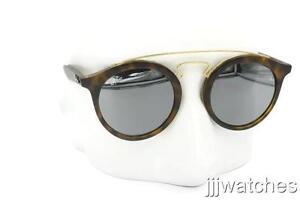 274b1a4cf8 New Ray-Ban Gatsby I Tortoise Gray Mirror Sunglasses RB4256 60926G ...