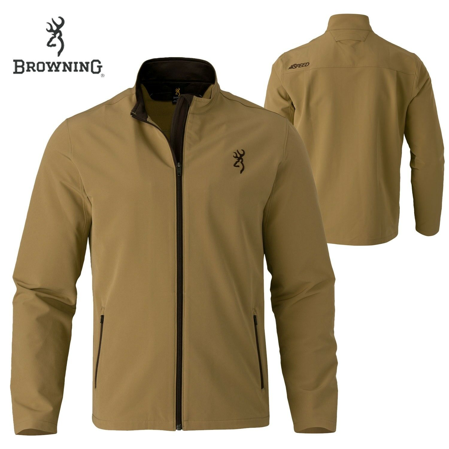 Browning Hell's Canyon Speed Javelin Jkt (M)- TAN