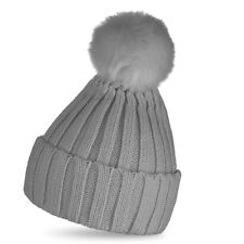 479e1b01335 item 4 Womens Kids Warm Kids Wool Knit Beanie Large Fur Pom Bobble Hat  Knitted Ski Cap -Womens Kids Warm Kids Wool Knit Beanie Large Fur Pom  Bobble Hat ...
