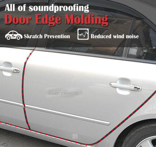 13Ft Door Molding Trim Rubber Strip Scratch Protector Edge Guard for BMW MINI