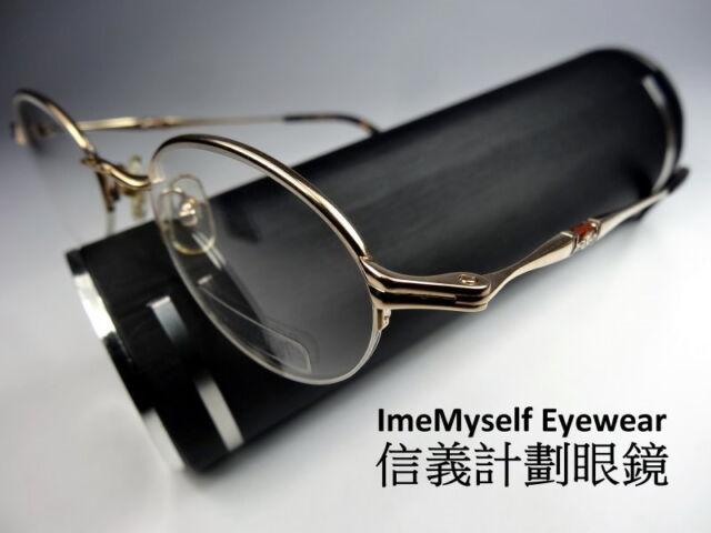 d7ef7a87964   ImeMyself Eyewear   Matsuda 10127 Vintage Optical Prescription Half Rim  Frames