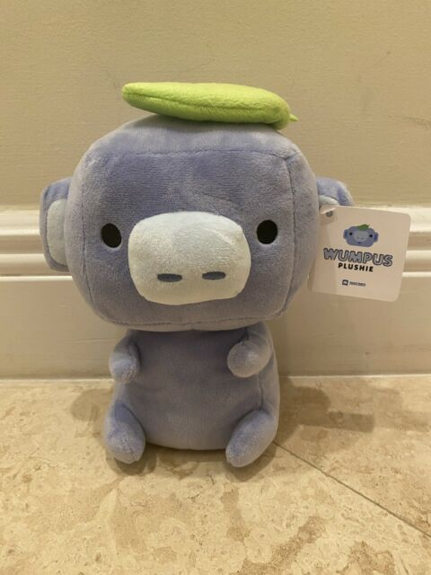 🔥IN HAND🔥 OFFICIAL Discord Wumpus Plushie Mascot 2021 Plush 🚛Ready to ship🚛