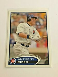 2012-Topps-Baseball-Base-Card-334-Anthony-Rizzo-Chicago-Cubs