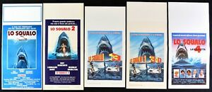 Lotto Poster Lo Hai Jaws Steven Spielberg Dreyfuss Robert Shaw Scheide N33