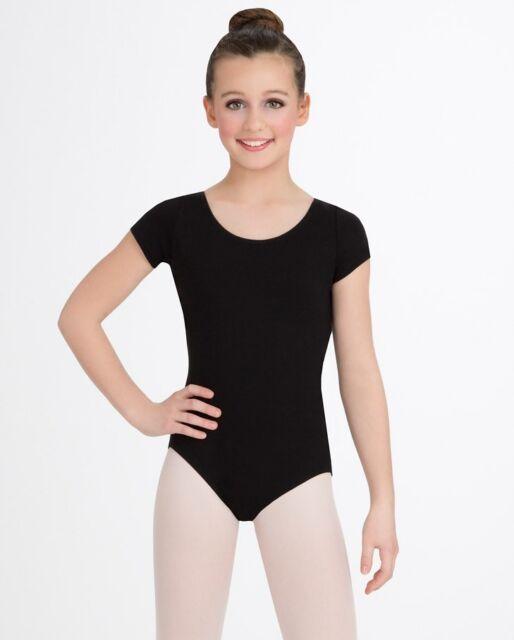 fe0b13cbd084 Buy Capezio Dance Short Sleeve Girl s Leotard Cc400c L Black online ...