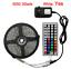 RGB-LED-bande-lumineuse-5M-10M-etanche-RGB-bande-DC-12V-ruban-diode-ampoules-LED miniature 8