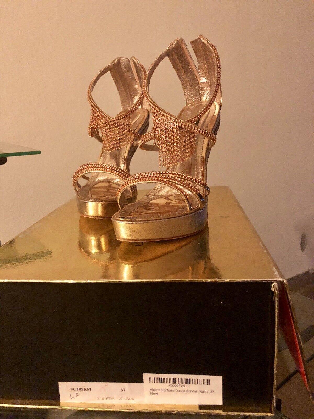 Sandalo Alberto Venturini Donna Cerimonia Sera Sandali Eleganti Donna