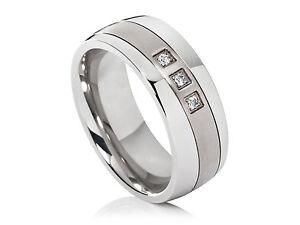 1-Ring-Damenring-Ehering-Trauring-aus-Edelstahl-und-Titan-mit-3-Zirkonia