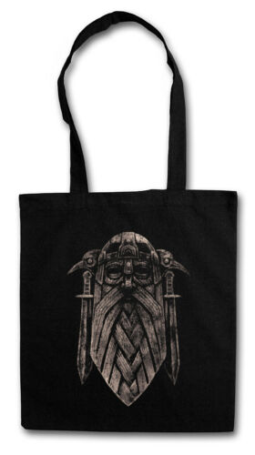 ODHIN IX SHOPPER SHOPPING BAG God Valhall Valhalla Odin Thor Vikings German