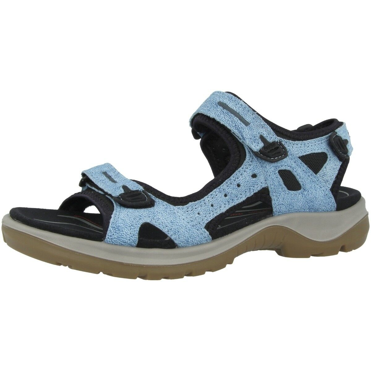 Ecco todoterreno Ladies outdoor sandalias señora Hiking zapatos Indigo 822083-01321