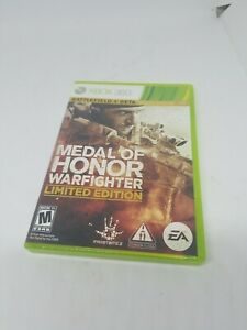 Medal-of-Honor-WARFIGHTER-Limited-Edition-Microsoft-Xbox-360-GAME-DISCS-amp-CASE