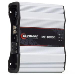 Taramps MD 1800.1 4 Ohms 1800w 1 Channel Car Audio Amplifier