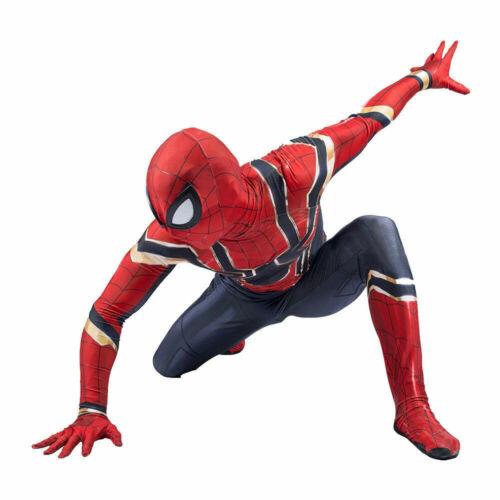 Venom Adults Boy Spiderman Superhero Cosplay Costume Jumpsuit Outfit Fancy Dress
