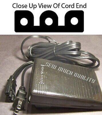 FOOT CONTROL PEDAL W// Cord Singer 995D2 996D2 E99670 14T948DS 14T957DC 14T967DC